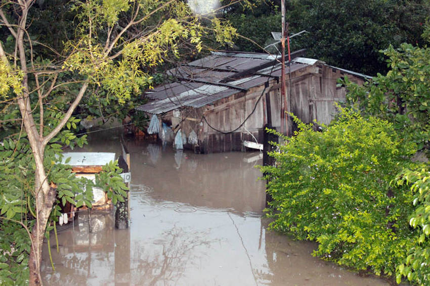 clorinda inundada