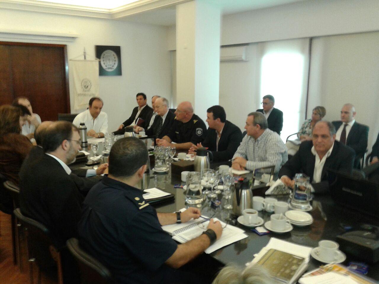 reunion concejo de seguridad