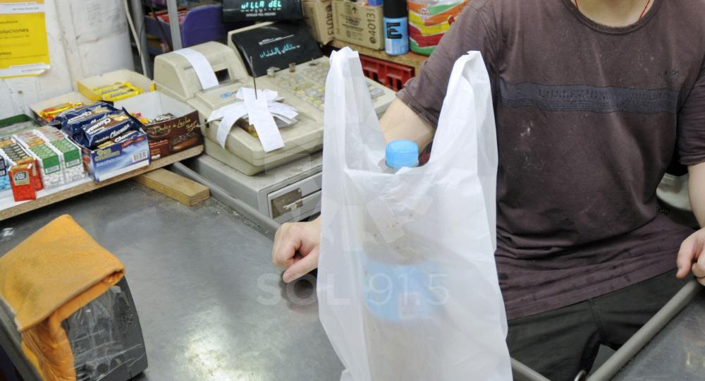 bolsas de plásticos