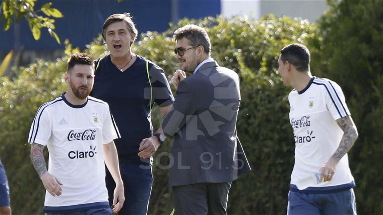 Tinelli-Messi