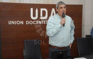 Sergio Romero, Secretario General de UDA.