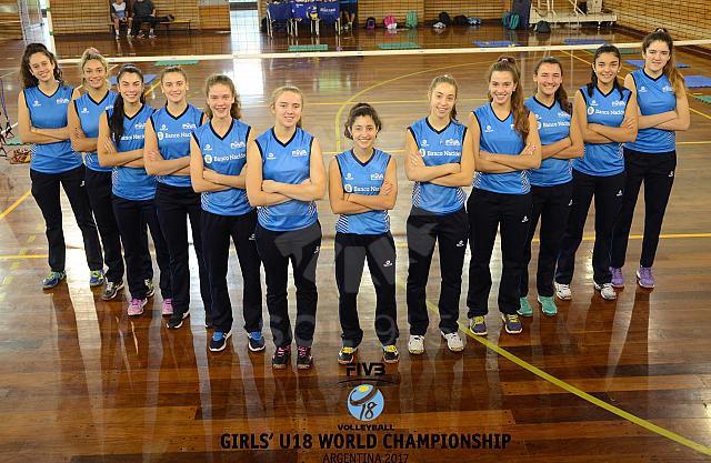 Voley U18 Mundial