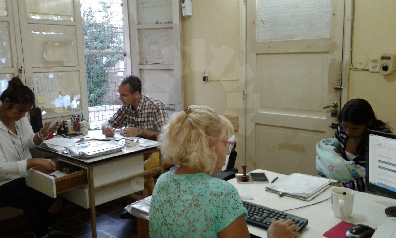Jornada habitual de trabajo en las distintas reas de la for Oficina registro
