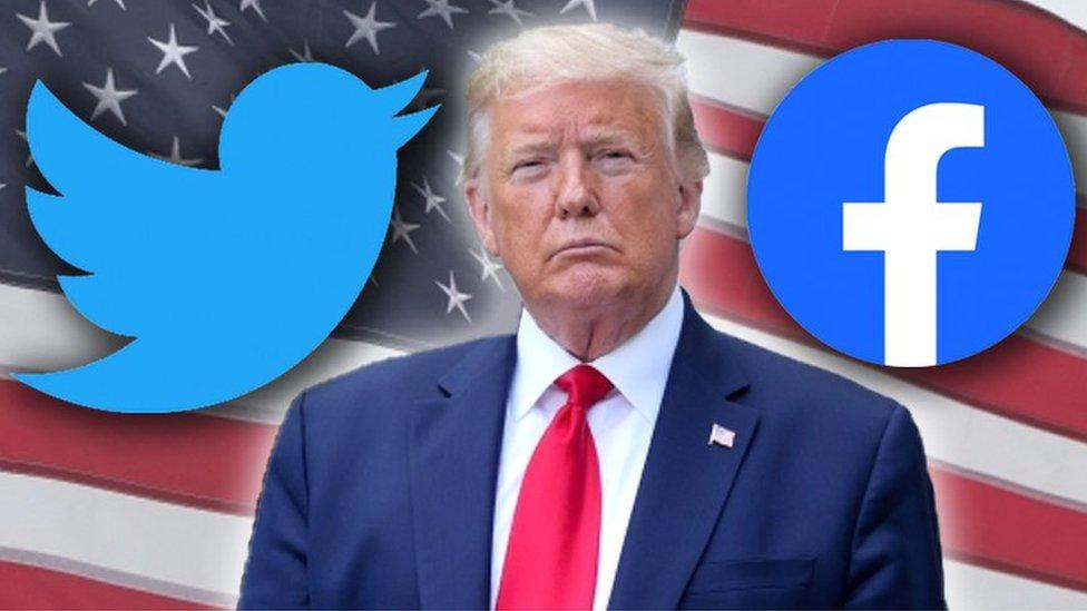 Donald Trump: ¿Censurado por las redes sociales o incumplió las normas de  las mismas? - SOL 91.5